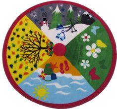 Four seasons Childrens Rug Carpet