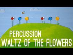 Waltz of the Flowers - Percussion Elementary Music Lessons, Music Lessons For Kids, Music Lesson Plans, Music For Kids, Piano Lessons, Elementary Schools, Preschool Music, Music Activities, Teaching Music