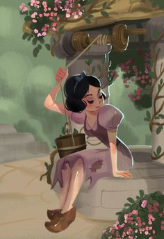 Victoria Ying.  See the Beautiful, Poetic Artwork by the Ladies of Disney Animation