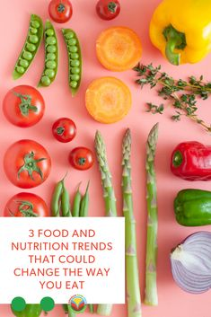 Food Trends that Could Change the Way You Eat - Canadian Food Focus Bison Recipes, Honey Recipes, No Dairy Recipes, Oats Recipes, Fruit Recipes, Plant Based Recipes, Vegetable Recipes, Barley Recipes, Mushroom Recipes