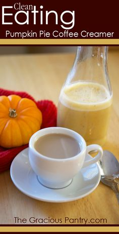 Clean Eating Pumpkin Pie Coffee Creamer Will find out tomorrow if good - didnt work well for me.. AJB