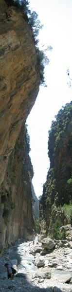 Griekenland Kreta / Crete, Samarias kloof, wandelen door de langste en smalste kloof van Europa