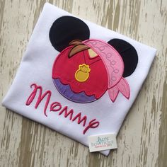 Izzy Mouse Shirt by LillysBowtique on Etsy, $23.00