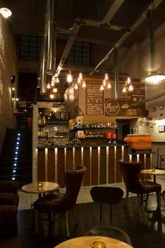MARSHALL&CO Coffee&Drinks  #interiorismo #diseñodeinteriores #branding  #mobiliario #iluminacion