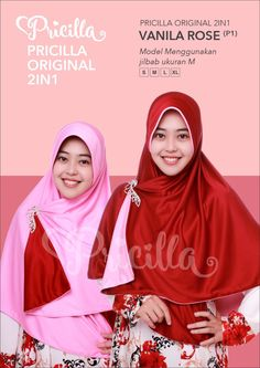 Jilbab Syar'i Pricilla Original Ukuran S