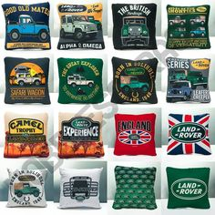 "52 Me gusta, 6 comentarios - Hobbies Garage (@hobbiesgarage) en Instagram: ""Land Rover custom Pillow. (restock and new design) Size: 40x40 cm. Material: Premium Drill with…"""