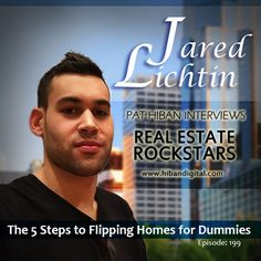 Jared Lichtin is a real estate entrepreneur and attorney from Cleveland, Ohio who hosts the top rated podcast Flip. He teaches people how to make money flipping residential real estate... #realestate #podcast #pathiban #hibandigital #hibangroup #HIBAN #realestatesales #realestateagent #realestateagents #selling #sales #sell #salespeople #salesperson #jaredlichtin