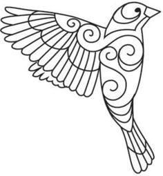 Ideas Embroidery Designs By Hand Birds Urban Threads Mexican Embroidery, Paper Embroidery, Hand Embroidery Designs, Beaded Embroidery, Embroidery Stitches, Embroidery Patterns, Machine Embroidery, Mexican Pattern, Quilling Patterns