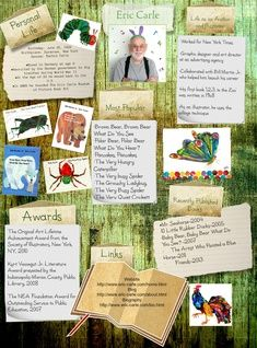 eric carle glogster a digital mood board research display board maker
