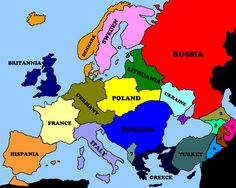 New Europe by HerManelig on DeviantArt Albania News, Germany Poland, Alternate History, Historical Maps, History Facts, World History, Romania, Geography, Greece