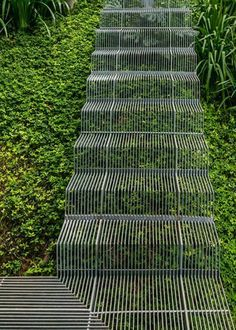 """""""You can't be aware of everything. You'd fall down the stairs if you were aware of every intricate thing involved in going down stairs"""" - ALAN ALDA - (Clever wire stairs)"""