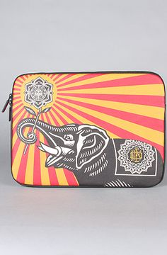 "$80 The Coated Canvas Sleeve for MacBook Pro 13"" in Obey Elephant by Incase -- Use repcode SMARTCANUCKS at the checkout for 20% off your entire order on karmaloop -- http://www.lovekarmaloop.com"