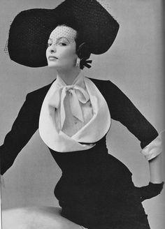 Jacques Fath: 2 piece evening suit, 1950 | Very similar to Vogue Paris Original 1113