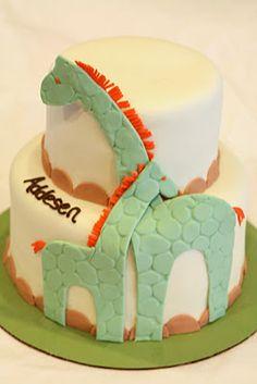 Precious Baby Shower Cake