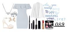 """""""Are you really going to allow fear rule your life?"""" by imagine-disney ❤ liked on Polyvore featuring Alexander McQueen, Nly Shoes, Bonheur, Chanel and V Jewellery"""