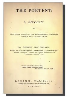 The Book Shelf: The Portent: George Macdonald's Ghost Story 1905