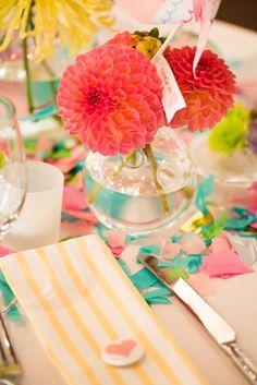colors. flowers Festive!