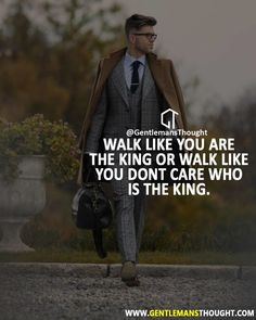 Positive Quotes : QUOTATION - Image : As the quote says - Description Walk like you are strong, happier, and unique. Boss Quotes, Joker Quotes, Attitude Quotes, True Quotes, Motivational Quotes, Inspirational Quotes, King Quotes, Don't Care Quotes, Reality Quotes