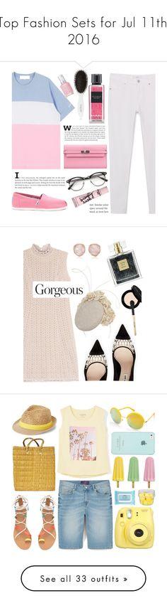 """Top Fashion Sets for Jul 11th, 2016"" by polyvore ❤ liked on Polyvore featuring MANGO, Leonor Greyl, Victoria's Secret, Hermès, Beauty Rush, Essie, roadtrip, Missoni, Miu Miu and Avon"