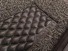 Mitsubishi L200 Washable Dirt Trapper Coiled PVC Rubber Car Floor Mat #NICOMAN