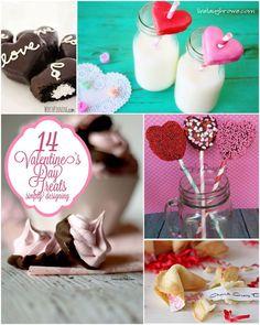 14 Valentine's Day Treats   #valentinesday #vday #recipes