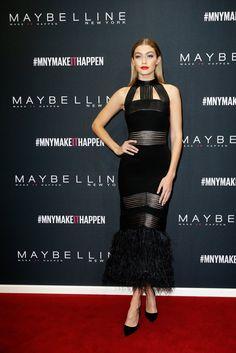Gigi Hadid bei der Maybelline New York Make-Up Runway Show | Alle Promis bei der Berlin Fashion Week Januar 2016 | POPSUGAR Deutschland Stars Photo 65