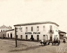 Azevedo, Militão Augusto de  Largo do Capim e ladeira do meio, rumo ao vale do Anhangabaú  1860  Largo do Bexiga, atual Largo do Riachuelo  São Paulo  SP  Brasil
