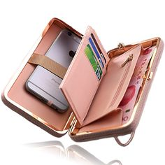 Women Wallet Phone Bag Case for iPhone 7 6 5 4 s 6s 5s 4s Plus Cover for Samsung Galaxy S8 S7 S6 Edge S5 J3 J5 A3 A5 2017 2016 //Price: $16.23// #shopping