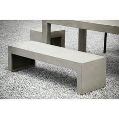 Bank & Tisch aus Beton, Jan Kurtz