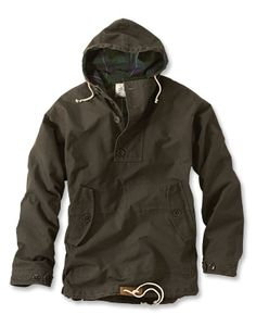 Waxed Cotton Anorak :: originally designed by the Inuit to protect them from the…