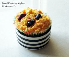 Carrot Cranberry Muffins