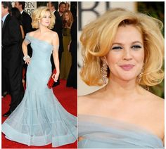 Drew Barrymore in John Galliano Dior, 66th Golden Globe Awards 2009
