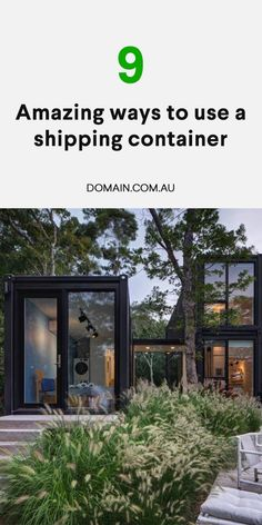 Shipping Container Sheds, Container House Plans, Container House Design, Shipping Containers, Dream Home Design, Tiny House Design, Tiny House Cabin, My House, Modern Architects