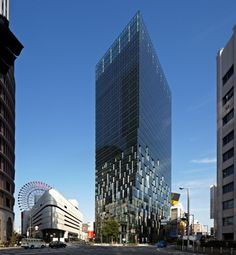 Fukoku Tower: Komatsubara, Kita-ku, Osaka, Japan / architects: Dominique Perrault Architecture