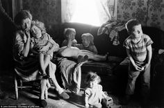 Valley of poverty: The desperate pictures of rural America that show 1930s-style depression actually lasted until the SIXTIES