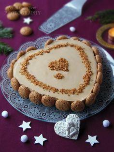 Kávés sajttorta amarettivel Romanian Desserts, Izu, Tiramisu, Tart, Cake Recipes, Cheesecake, Ethnic Recipes, Christmas, Food