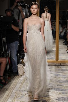 Marchesa RTW Spring 2012 If Colin Firth asks me to the oscars  I will wear this