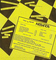 I'm Learning To Share!: A brief Del Close reference leads us along to: Michael O'Brien & John Elk - How To Speak Modern (1980)