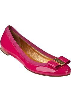 Kate Spade - Tock Ballet Flat Pink Patent