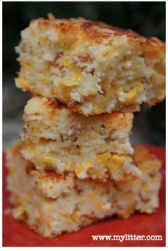 Bacon Cheddar Corn Bread Recipe - MyLitter - One Deal At A Time