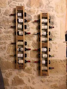 Petits Bars, Wine Rack, Storage, Creative, Furniture, Cave, Home Decor, Purse Storage, Decoration Home