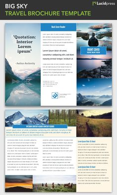 The 23 best Free brochure templates images on Pinterest   Free     Free Tri Fold Brochure Templates  Brochure ExamplesFree BrochureTravel