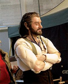 the-hobbit:   Behind the Scenes: Richard | Armitage Addiction