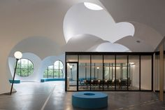 Carlos Arroyo Architects have completed the OostCampus building in Oostkamp, Belgium.