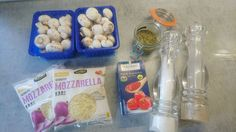 Pizza funghi ingrediënten