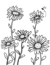 Image result for Daisy Template Printable Large