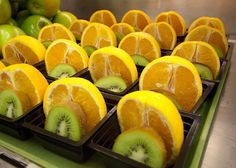 Oranges and kiwi fruit are both rich sources of Vitamin C (credit: Bob Nichols/U. Department of Agriculture) The recommended dietary allowance, or RDA, of Pakistan Food, School Breakfast, School Lunch, November, Nutrition Month, Nutrition Classes, Vitamins For Kids, Fruit Cups, Orange Fruit