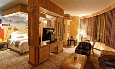 El Fantasyland Hotel, Edmonton – Canadá es muy conocido