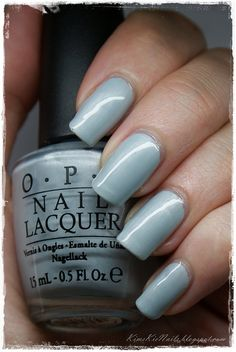 #OPI I Vant To Be #A-Lone star, #Blue