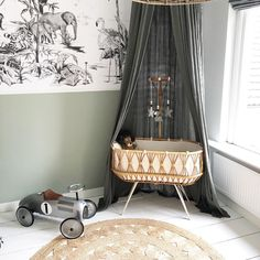 Just a small taste of our own baby room! The room of our mini i . Baby Bedroom, Baby Room Decor, Nursery Room, Kids Bedroom, Nursery Decor, Accent Chairs For Sale, Baby Bassinet, Safari Nursery, Nursery Neutral
